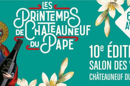 Les printemps de Châteauneuf du Pape